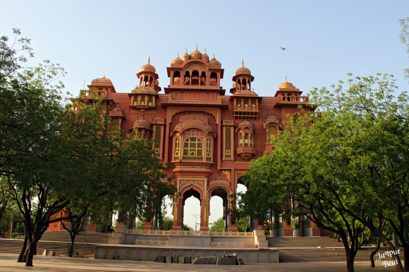 Jawahar circle jaipur park-Asia's biggest park circle.